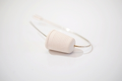 Thimble Brooch Curved 4