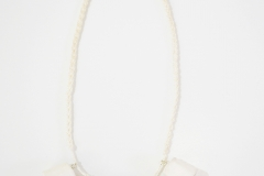 Mother of Pearl Thimble Necklace