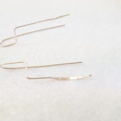 Naomi Eleftheriou Sterling Silver Earrings