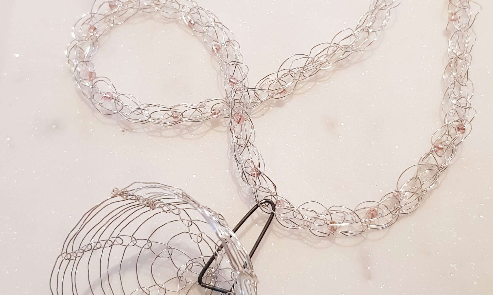 'Pinned Together' Neck Piece