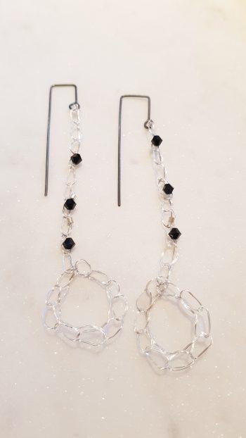 'Come Full Circle' earrings